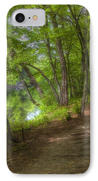 Summer Walk IPhone Case by Joann Vitali