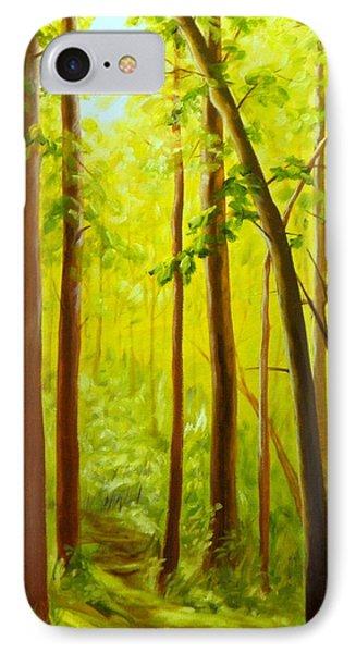 Summer Woods IPhone Case