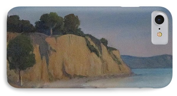 IPhone Case featuring the painting Summerland Beach Study by Jennifer Boswell