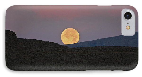 Summers Super Moon Two IPhone Case