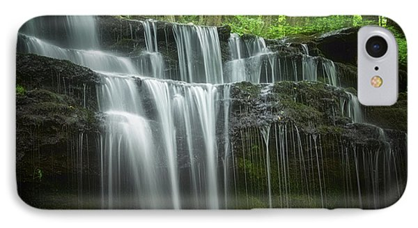 Summertime At Gunn Brook Falls IPhone Case by Mary Lou Chmura