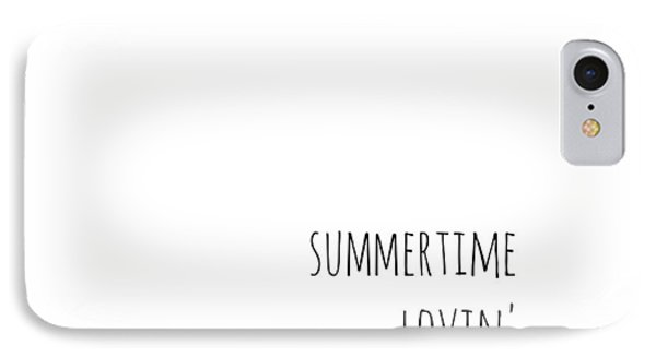 Summertime Lovin IPhone Case by Chastity Hoff