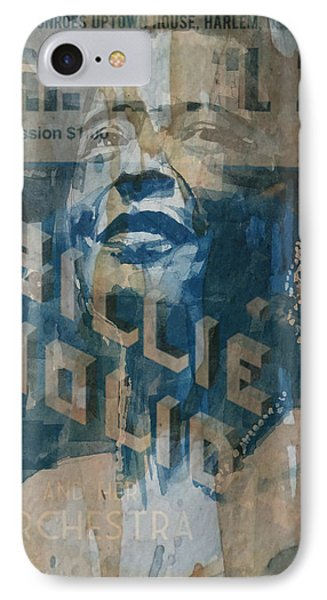 Rhythm And Blues iPhone 7 Case - Summertime by Paul Lovering