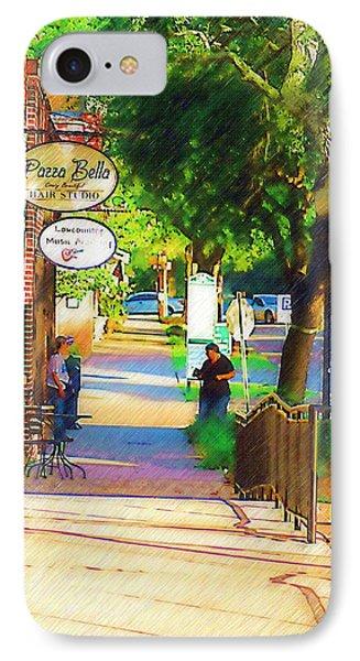 Summerville Sc Phone Case by Donna Bentley