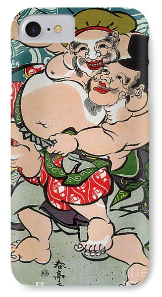 Sumo Wrestling Phone Case by Granger