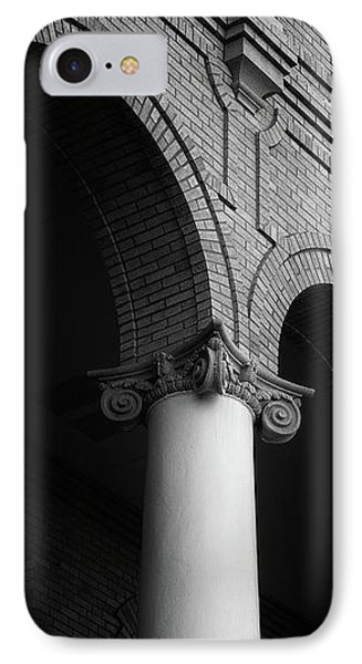 IPhone Case featuring the photograph Sumter County Courthouse by Richard Rizzo