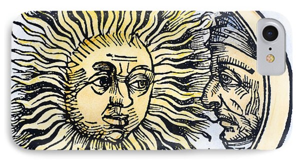 Sun And Moon, 1493 Phone Case by Granger