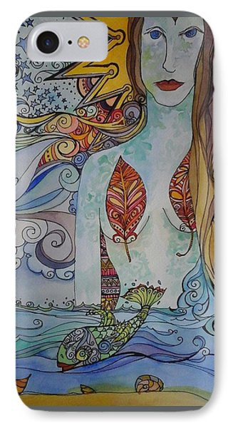 Sun And Sea Godess IPhone Case