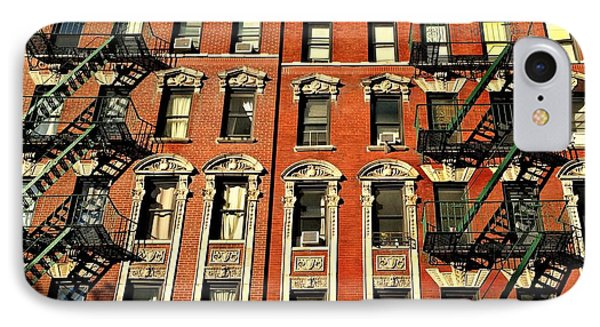 Sun And Shadow - The Rhythm Of New York IPhone Case by Miriam Danar