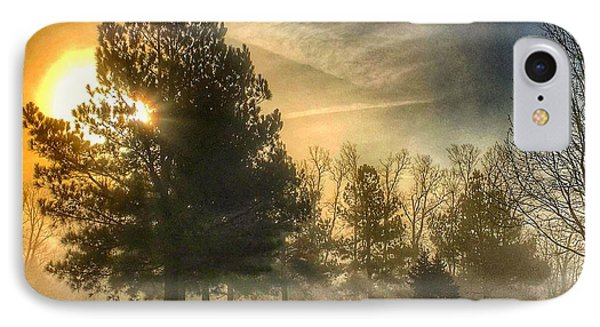 IPhone Case featuring the photograph Sun And Trees by Sumoflam Photography