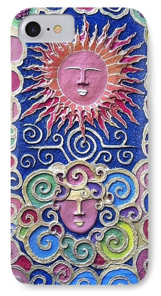 Sun And Wind 2 Phone Case by Otil Rotcod
