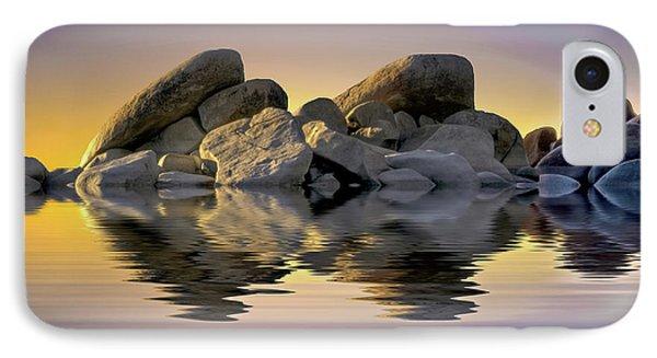Sun Bathed Rocks IPhone Case