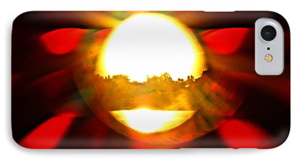 IPhone Case featuring the photograph Sun Burst by Eric Dee
