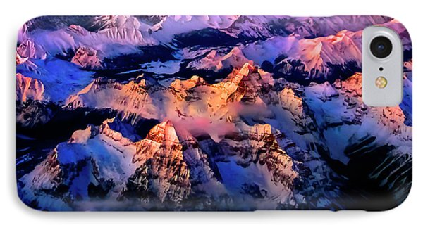 IPhone Case featuring the photograph Sun Catcher - Assiniboine by John Poon