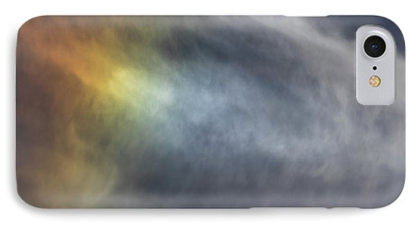 IPhone Case featuring the photograph Sun Dog 2017 by Thomas Young