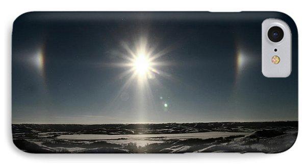 Sun Dogs Besides Settig Sun Phone Case by Mark Duffy