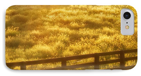 IPhone Case featuring the photograph Sun-drenched Pasture by Mark Miller
