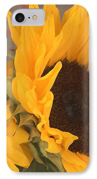 Sun Flower IPhone Case by Jana Russon