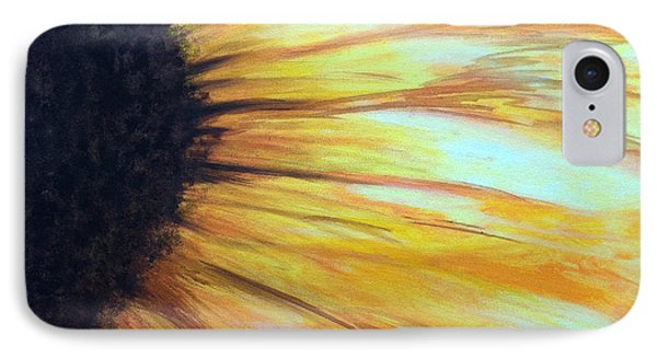 Sun Flower IPhone Case by Sheron Petrie