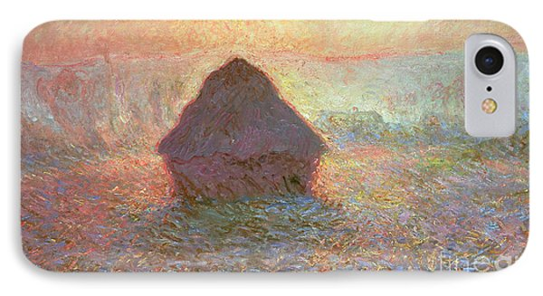 Sun In The Mist Phone Case by Claude Monet