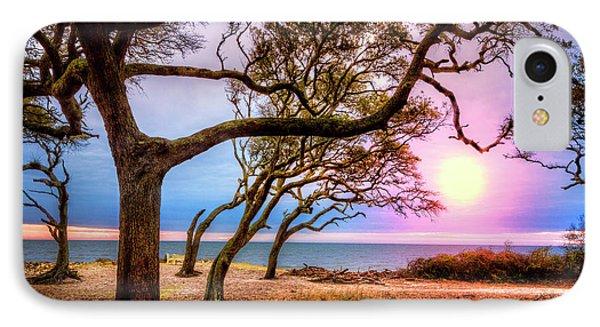 Sun Is Rising IPhone Case by Debra and Dave Vanderlaan