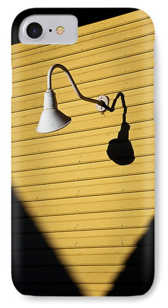Sun Lamp IPhone Case by Dave Bowman