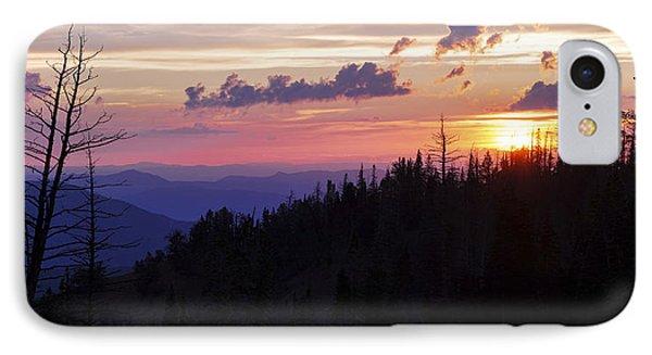 Sun Over Cedar IPhone Case
