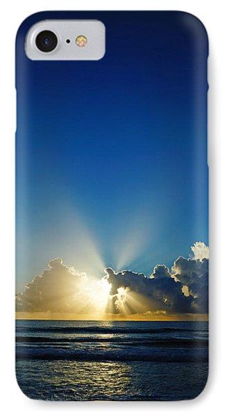 Sun Ray Sunrise IPhone Case