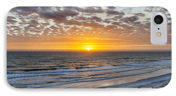 Sun Rising Over Atlantic IPhone Case