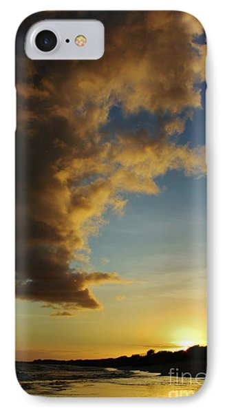 Sun Sea And Cloud IPhone Case by Craig Wood