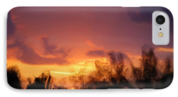 Sun Set IPhone Case