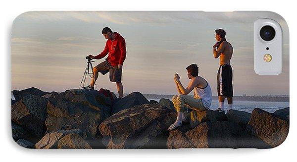 Sun Set Shooters IPhone Case