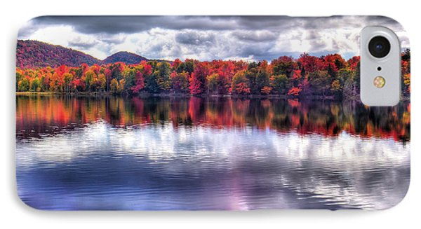 IPhone Case featuring the photograph Sun Streaks On West Lake by David Patterson