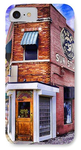 Sun Studio IPhone Case by Dennis Cox WorldViews