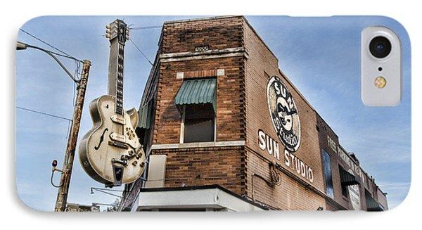 Sun Studio - Memphis #1 IPhone Case by Stephen Stookey