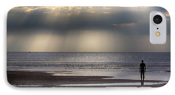 Sun Through The Clouds 2 5x7 IPhone Case