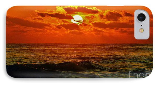 IPhone Case featuring the photograph Sun Tinted Sea by Craig Wood