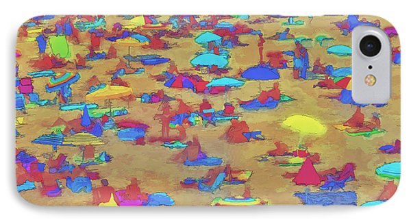 Sun Umbrellas IPhone Case by Pedro L Gili