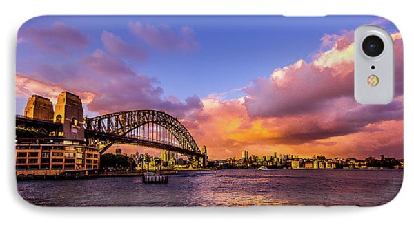 IPhone Case featuring the photograph Sun Up by Perry Webster
