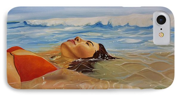 Sunbather IPhone Case by Crimson Shults