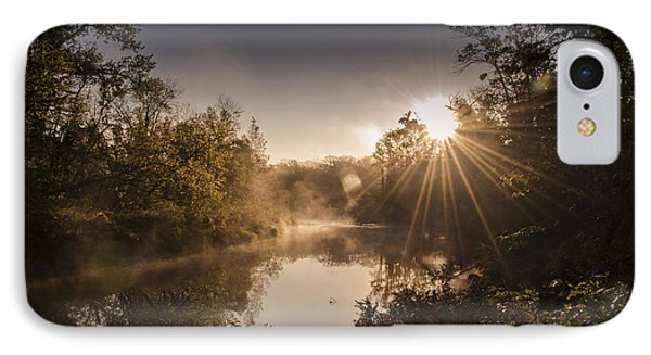 Sunbeams  IPhone Case by Annette Berglund