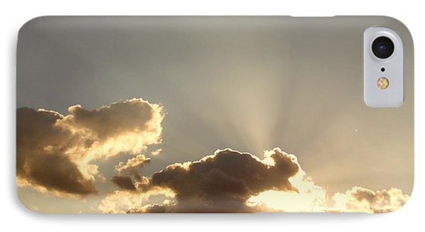 IPhone Case featuring the photograph Trumpeting Triumphantly Sunrise by Deborah Moen