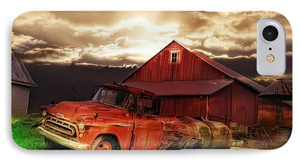 Sunburst At The Farm Phone Case by Bill Cannon