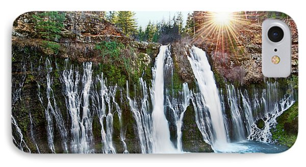 Sunburst Falls - Burney Falls Is One Of The Most Beautiful Waterfalls In California IPhone Case