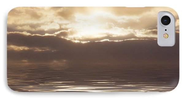 Sunburst Over Water Phone Case by Bill Cannon