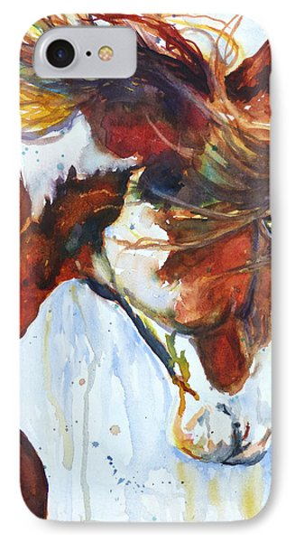 IPhone Case featuring the painting Sundance by P Maure Bausch