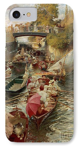 Sunday Afternoon IPhone Case by Edward John Gregory