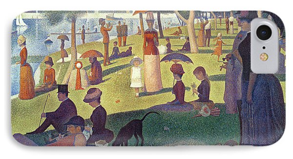 Sunday Afternoon On The Island Of La Grande Jatte Phone Case by Georges Pierre Seurat