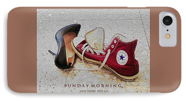 IPhone Case featuring the photograph Sunday Morning by Don Pedro De Gracia