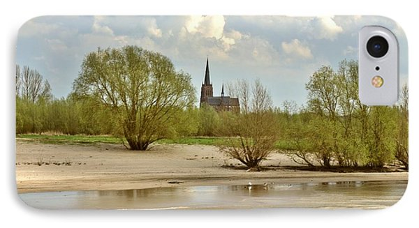 Sunday On The Rhine IPhone Case by Jill Smith